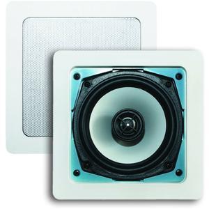AquaSound Samba speakerset 177x177x65 80w Wit