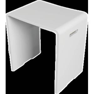 Riho Solid Surface zitje Matwit 43x40x29 cm