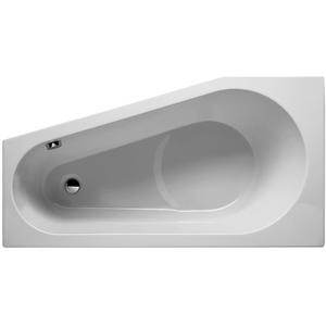Riho Delta acryl bad, 150x80x48 zonder pootset, rechts, wit