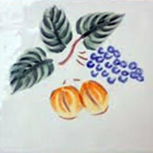 Decortegel Cocina Azahar 13x13 cm Uvas 1ST