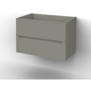 Ben Avenue Onderkast 2 lades 76.5x47.5x52 cm Mat Grijs