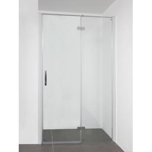 Saqu Galika (Nis)draaideur 120x210 cm Aluminium / Helder Glas