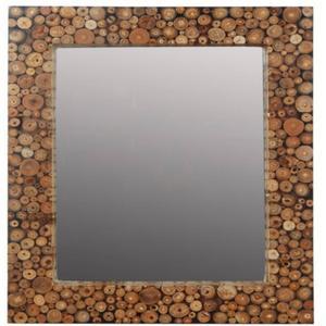 Teak & Living Spiegel 120x90 cm wit