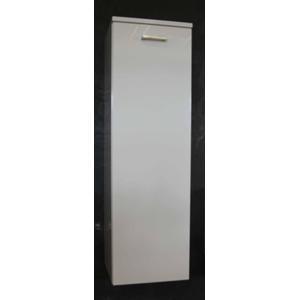 Teak & Living Halfhoge kast 35x35x112 cm  1 deur linksdraaiend
