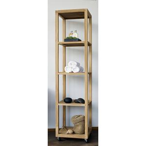 Teak & Living Hoge kast type Raster 181x45x45 cm