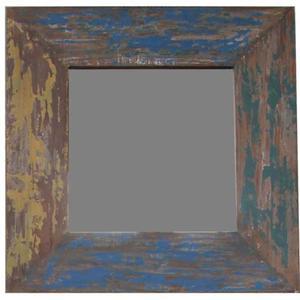 Teak & Living Spiegel Vintage 70x70 cm