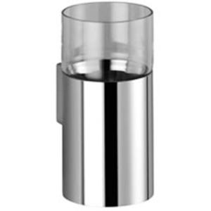 Dornbracht Meta.02 Glashouder, wandmodel Platina Mat
