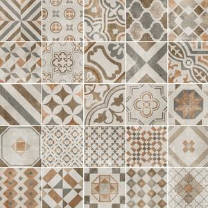 Decortegel Vintage Cementina Mix 20x20 cm Mix Color 1,2 M2