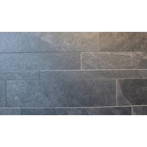 Vloertegel Zahni Interior Stone 5/10/15x60x- cm nero 1,08M2