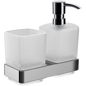 Emco Loft glashouder / zeepdispenser Chroom