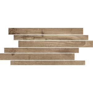 Muretto Castelvetro Woodland 20x40x1 cm Grijs/Bruin 4ST