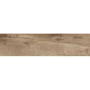 Vloertegel Castelvetro Woodland 20x120x1 cm Grijs/Bruin 0,96 m²