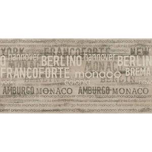 Decortegel Castelvetro Ubahn 30x61x1 cm Francoforte Murales 4ST