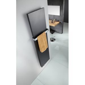Duschprofi Atelier Line designradiator 181x61cm 1070W Grafietzwart