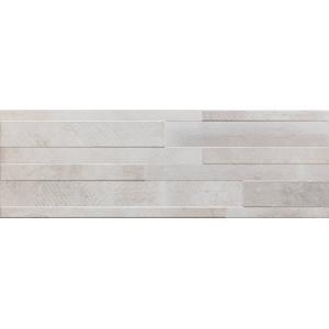 Decortegel Sintesi Gresmalt Atelier 20x60x- cm Bianco 1,21 M2