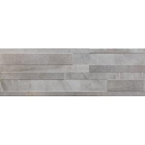 Decortegel Sintesi Gresmalt Atelier 20x60x- cm Grigio 1,21 M2