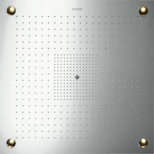 Technische tekening, Hansgrohe Axor Starck showerheaven 97x97 cm. met verlichting Rvs, 10623800