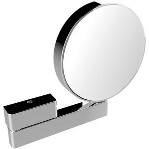 Emco Scheer- en Cosmeticaspiegel Dubbelzijdig met Vergroting X3/7 Zonder Verlichting Ø20,2 cm Chroom