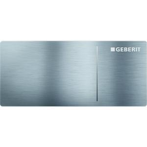 Geberit Omega 70 drukplaat 2-knops voor reservoir 12cm rvs