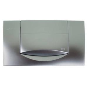Geberit Jazzline drukplaat 1-knop tbv UP720/UP320 mat chroom