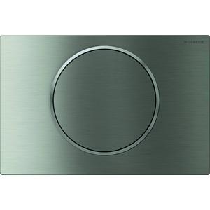 Geberit Sigma 10 drukplaat 1-knop tbv UP720/UP320 rvs geborsteld