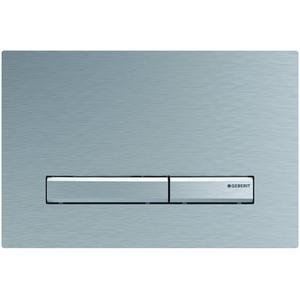 Geberit Sigma 50 drukplaat 2-knops tbv UP720/UP320 chroom geborsteld