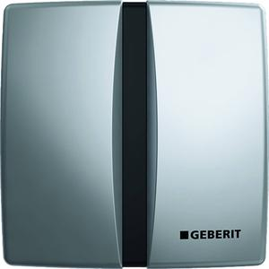 Geberit urinoir bedieningsplaat infrarood batterij Mat Chroom