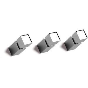 Vasco Carre knop vierkant voor radiator Chroom