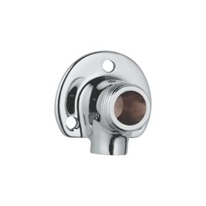 Grohe set muurplaatkoppeling 1/2 inchx12 mm. Chroom