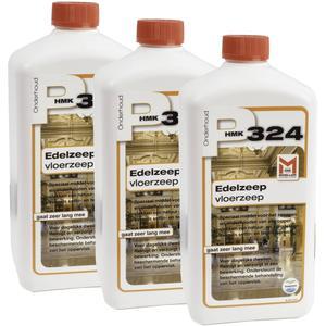 HMK P324 3-pack Edelzeep voor de vloer (totaal 3 liter)