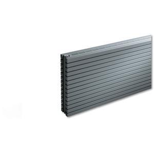 Vasco Carré CB Designradiator 89,5x200 cm Aluminium Grijs