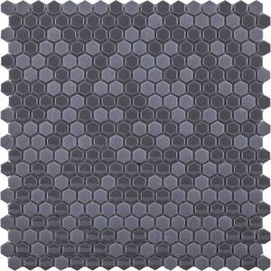 Mozaïek L'Antic Glaze 29,5x30 cm mini hexagon grey 1 ST