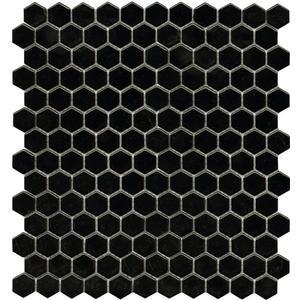 Mozaïek L'Antic Air 31x32,4 cm hexagon black 1 ST