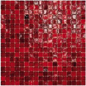 Mozaïek Sicis Waterglass Collection 29,5x29,5 cm crimson 1M2