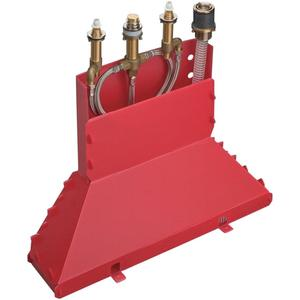 Axor Badrandmengkraan Inbouwdeel 4-Gats Secuflex Box