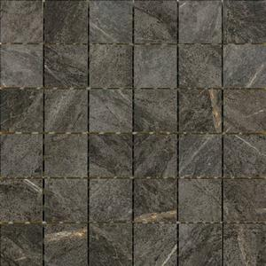 Mozaïek Coem Soap Stone 30x30 cm black 0,99 M2