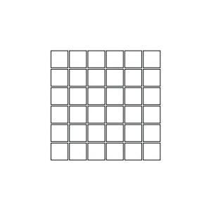 Mozaïek Coem REVERSO 30x30x1 cm Beige 0,99M2