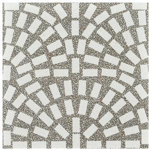 Vloertegel Coem Terrazzo 60x60 cm Tessere Beton 1,44 M2