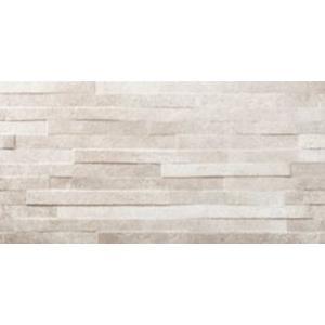 Wandtegel Azulev Varese 30x60x0,9 cm Perla Chisel 1,25M2