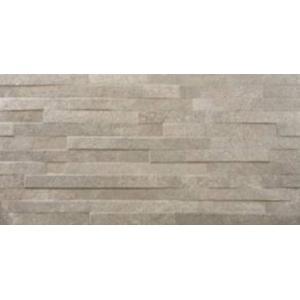 Wandtegel Azulev Varese 30x60x0,9 cm Gris Chisel 1,25M2