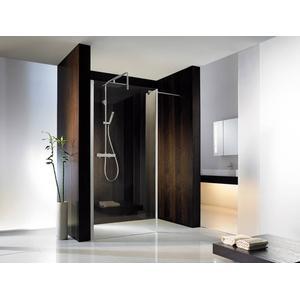 HSK Walk-In Atelier Inloopdouche met vast zijpaneel 100+30x200cm Chroom/Helder glas