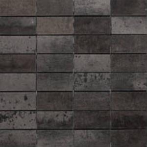 Mozaïek Tau Ceramica Corten 30x30x- cm Black B 0,36 M2