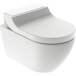 Geberit AquaClean Tuma Comfortset wandcloset + zitting 35x55,3x28,4 cm decorplaat Alpien wit