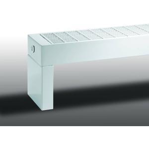 Vasco Primula P1 radiator as=1638 7x180cm 2268W Signaal Zwart