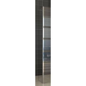 Saqu Zijwand met hoekprofiel 30x200 cm Nano Rookglas