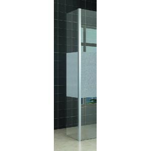Saqu Zijwand 35x200 cm Nano Rookglas