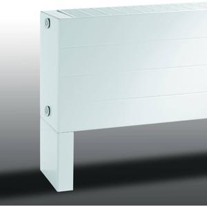 Vasco Primula P4 radiator as=9999 28x260cm 5871W Aluminium Grijs