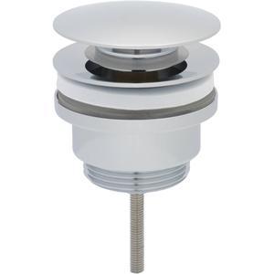 Ben Push Open Wastafelplug 6,3cm Chroom