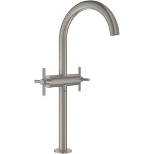 Grohe Atrio Wastafelmengkraan Push Open Supersteel