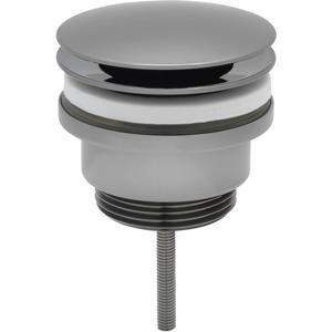 Ben afvoerplug 6,3 cm zwart chroom